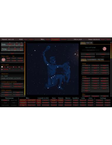 ASTR 0418 Planetarium Control