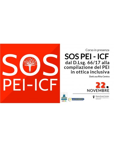 SOS PEI – ICF: dal D. Lgs 66/17 alla...