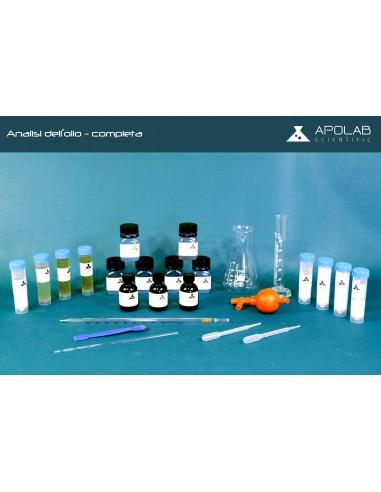 CA 01004 kit analisi dell'Olio Completa