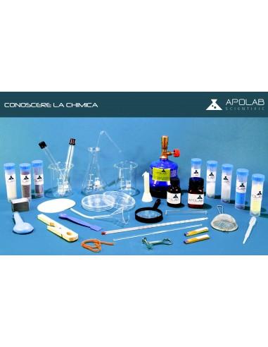 CC 01001 kit Conoscere la Chimica